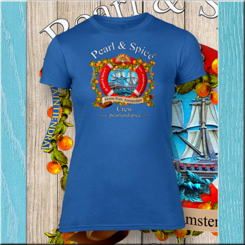 T-shirt Dames Sailing Crew Signature Collection