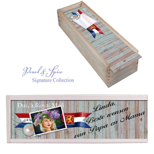 Wine box Royal Mail Signature Collection